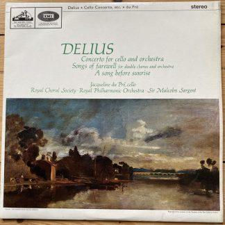 ASD 644 Delius Cello Concerto, etc. / Jacqueline Du Pre / Sargent / RPO S/C