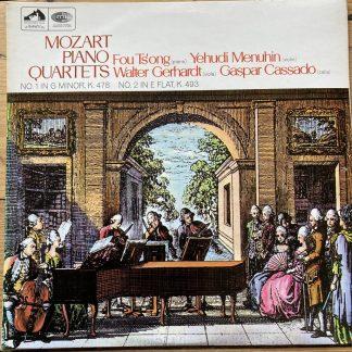 ASD 2319 Mozart Piano Quartets Nos. 1 & 2 / Ts'ong / Mehuhin / Gerhardt etc S/C