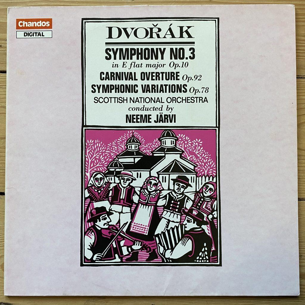 ABRD 1270 Dvorak Symphony No. 3 / Carnival Overture / Symphonic Variations / Järvi / SNO