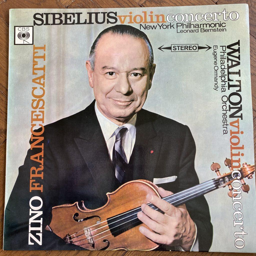 SBRG 72351 Sibelius / Walton Violin Concertos / Zino Francescatti / Ormandy