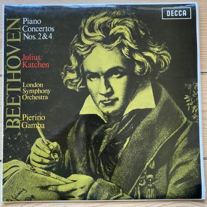 SXL 6082 Beethoven Piano Concerto No. 2