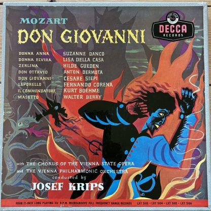 LXT 5103-4-5-6 Mozart Don Giovanni / Danco / Krips / VPO etc