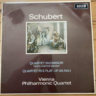 SXL 6092 Schubert Death & the Maiden Quartet etc