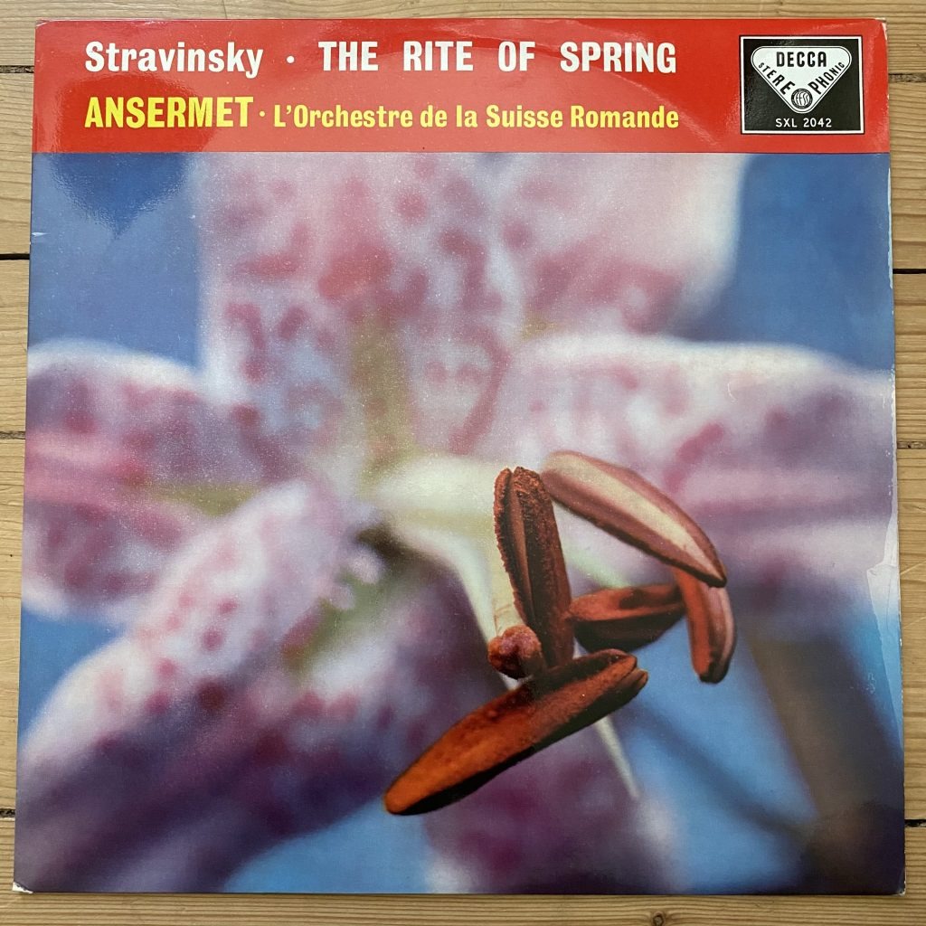 SXL 2042 Stravinsky The Rite Of Spring / Ansermet / OSR W/B BBB