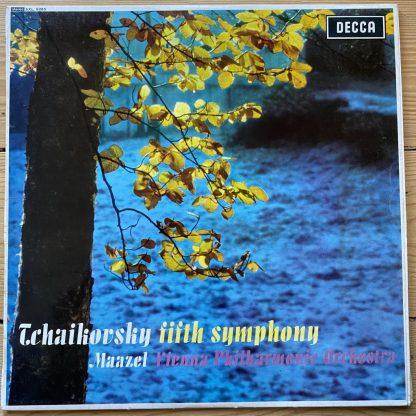 SXL 6085 Tchaikovsky Symphony No. 5 / Maazel VPO W/B