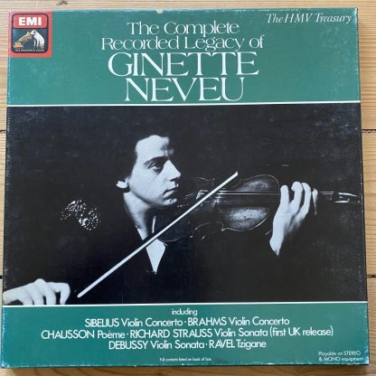 RLS 739 The Complete Recorded Legacy of Ginette Neveu
