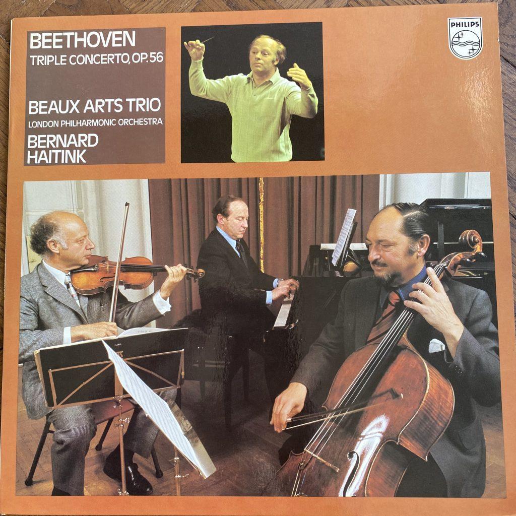 9500 382 Beethoven Triple Concerto / Beaux Arts Trio / Haitink / Concertgebouw