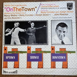 SBBL 613 Bernstein On The Town original cast HI-FI STEREO