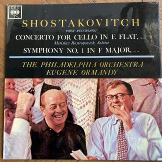 SBRG 72081 Shostakovitch Cello Concerto / Symphony No