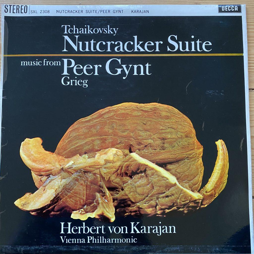 SXL 2308 Tchaikovsky Nutcracker Suite etc / Karajan