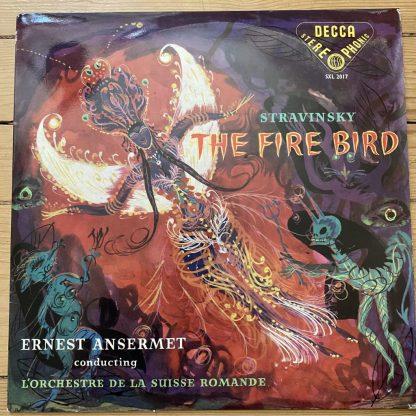 SXL 2017 Stravinsky The Fire Bird / Ansermet / OSR W/B BBB