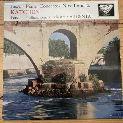 SXL 2097 Liszt Piano Concertos / Katchen / Argenta / LPO W/B BBB
