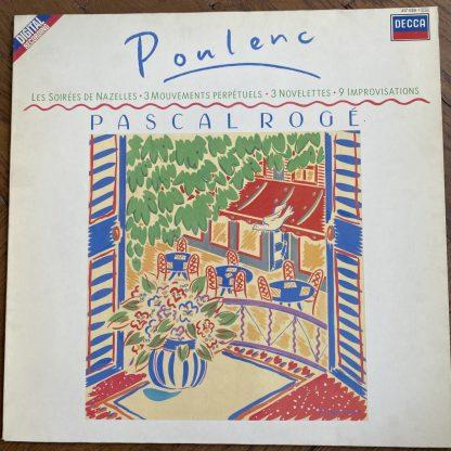 417 438-1 Poulenc Piano Works / Pascal Rogé