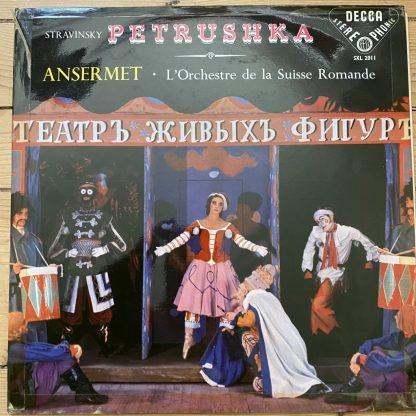 SXL 2011 Stravinsky Petrushka / Ansermet / OSR W/B BBB