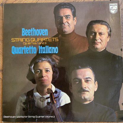 6500 181 Beethoven String Quartets Op. 18 Nos. 1 and 3 / Quartetto Italiano