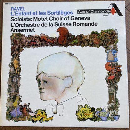 SDD 168 Ravel L'Enfant Et Les Sortilèges / Ansermet / OSR FFRR