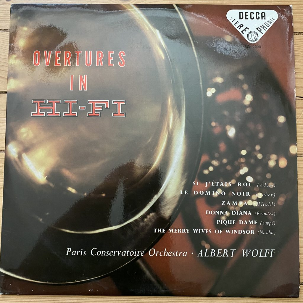 SXL 2008 Overtures in Hi-Fi / Wolff / PCO W/B BBB