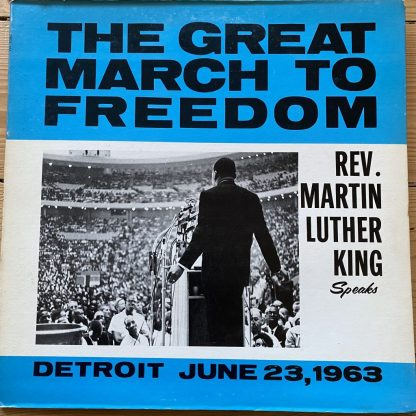 Gordy 906 The Great March To Freedom / Rev. Martin Luther King Speaks