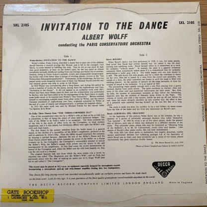 SXL 2105 Invitation To The Dance / Wolf W/B