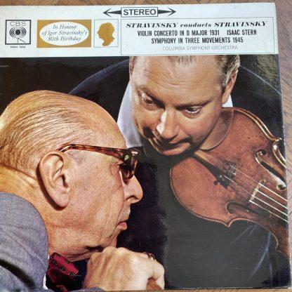 SBRG 72038 Stravinsky Violin Concerto / Symphony / Stern / Stravinsky / CSO