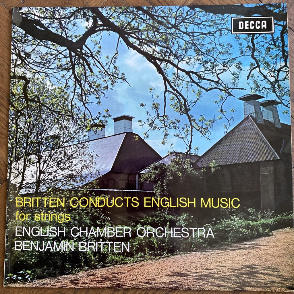SXL 6405 Britten conducts English Music for Strings